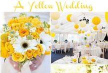 Yellow Wedding Ideas / Yellow Wedding ideas and inspiration