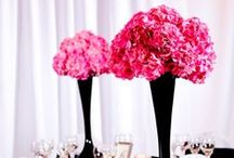 Pink wedding inspiration / Many shades of Pink for a gorgeous pink wedding
