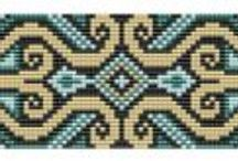 Looming patterns - geometrical & floral
