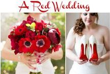 Red Wedding Ideas / Beautiful red wedding ideas for inspiration