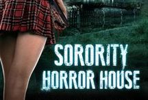 Sorority Horror House / Sorority Horror House (AKA American Horror House on Syfy) features Alessandra Torresani, Morgan Fairchild, Cameron Deane Stewart, and Dave Davis. | Sorority Horror House follows the girls at Sigma Delta Phi during the middle of pledge season. One of the girls begins to get suspicious of the building's head mistress as mysterious and horrific events begin to occur around the campus.