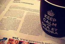 KEEP CALM and ORA et LABORA / Znany szerokiej publiczności motyw korony w połączeniu z ciekawym hasłem robi furorę, nie tylko w Polsce, ale i na świecie. Dzięki takiej formie przekazu można w prostych słowach pokazać znajomym w jakim jest się nastroju czy też określić swoje osobiste poglądy na życie.