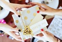 Gift Wrapping Ideas / Gift Wrapping Ideas - Chic and pretty gift wrapping ideas for everyday and special celebrations / by For Chic Sake