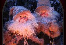 RiihiSet design. Christmas time... / Maahiset, menninkäiset ja tontut. Handmade in Finland  Elf,christmaselfs, farytale, Christmas,
