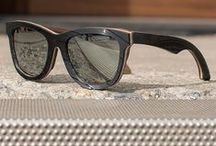 Vinyl Record Sunglasses / Our Vinyl Record Wayfarer line that we've created to combine your passion for style and love of music. Handmade actual Vintage Vinyl Records and Walnut to create a unique handcrafted beauty.