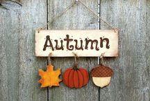 AUTUMN. / Autumnal things & inspo