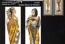 Janlynn indian brave and maiden