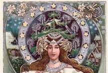 Art Nouveau Christmas