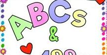 ABCs & 123s / Fun learning centers, ideas, games, and tips for Pre-K, kindergarten, 1st and 2nd grade.  For every pin posted, please repin one.  If you would like to be added to ABCs and 123s, please follow the board, then send me a Facebook message at https://www.facebook.com/misskinders with your Pinterest URL.