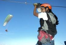 Cable Vuelo/Canopy / Dos experiencias que no te puedes perder en Aeroclub San Felix Parapente