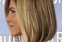 Hairstyles - angled bob