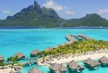 St. Regis Resort Bora Bora / Beautiful photos of the St. Regis Resort in Bora Bora.