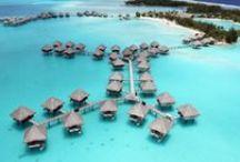 Le Meridien Bora Bora / Beautiful photos of the Le Meridien Resort in Bora Bora.
