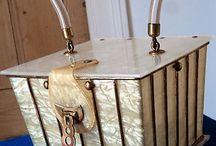 Lucite handbags