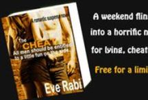 """THE CHEAT by Eve Rabi (A Tale of Lies and Infidelity) / """"It was my wife's fault I cheated. Have you seen her mommy jeans and fugly pumps?"""" http://www.amazon.com/THE-CHEAT-Infidelity-happens-Vegas-ebook/dp/B008GU42OG"""