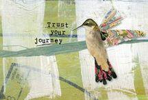 Art Journals / Scapbook / Collage