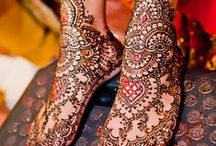 Henna designs - Colourful