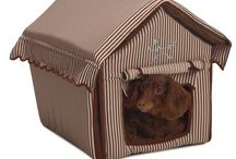 Dog beds and houses