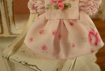 Miniature clothing / Ideas to make for mini babies plus a few adult items