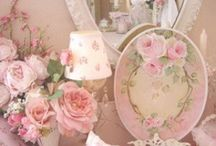 Shabby chic miniatures / Shabby chic furniture and accessories to make in miniature