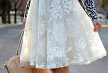 Clothes ..... LACE skirts
