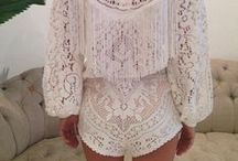 Clothes ..... LACE shorts & rompers