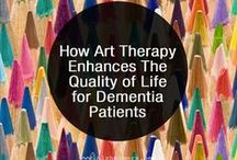 Alzheimer's and Art Therapy / How art therapy can help those with Alzheimer's / Dementia.