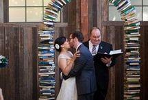 Déco mariage thème littérature / Literary Wedding / Les plus belles idées et inspirations déco pour votre mariage avec pour thème la littérature, la lecture et les livres