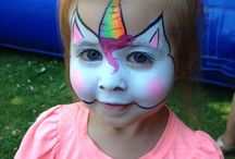 Funky Faces / Face painting ideas