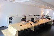 tafels / De banktafels van h a n d i c k e + andere tafel ontwerpen