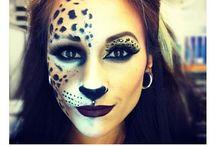 Halloween/Faschings Make up
