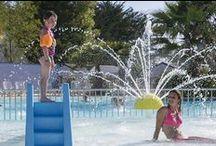 Le parc aquatique / Découvrez en images le parc aquatique du Yelloh ! Village La Plage