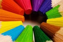 We Love Color / Color puts a smile on our face and brightens up our day. / by Wise and Simple