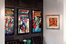 comic book theme