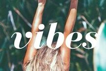 Loving good vibes.... / Your vibe attracts your tribe xx