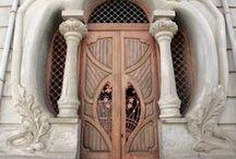DoorsDoorwaysGates... / - / by Count Orlok
