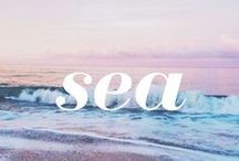 Loving the sea...