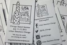 2015 Sketching Seminar / Coming in July 2015 to Chicago! Learn and sketch with Urban Sketchers Chicago!