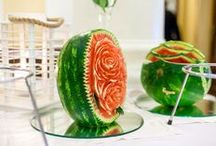 Watermelon creations.. Www.elafokinigos.gr / Elafokinigos Events Catering Since 1971.    www.elafokinigos.gr