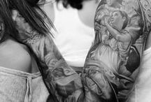 SKIN / Skin ART ........ says a lot, colours or words, its your thing and everyone who sees you has an opinion ........ T.U.K., we just love being ourselves.