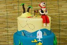 Gâteaux en pâte à sucre - Birthday Cake / Nos gâteaux en pâte à sucre