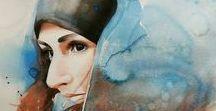 Portrait/ Watercolour
