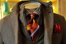 Dude Fashion / My Ideal Male For Work and/or Play. Rugged Meets Tailored | Suit & Street  / by Ronnette Cox