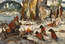 Serge Brunoni - / Serge Brunoni  professional artist artiste-peintre