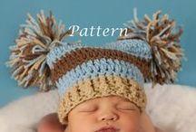 Crochet - Beanies/Hats / by Ranae Staffanson