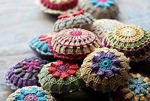 Chettie / Delightful inspiration for my new crocheting adventure .