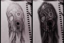 Tattoo Time - concept /  concept art design tattoo !