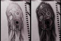 Tattoo Time - concept /  concept art design tattoo !