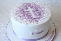 Baptism and First Communion cake