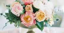 Garden Wedding Inspiration / English Garden Wedding Inspiration for the classic couple planning an outdoor wedding in a garden like setting.  Flowers and greenery for days your wedding celebration.